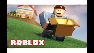 وظيفتى الجديدة كا ساعي بريد فى لعبة roblox !!