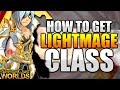 How to get LightMage Class And LightCaster Class AQW AdventureQuest Worlds