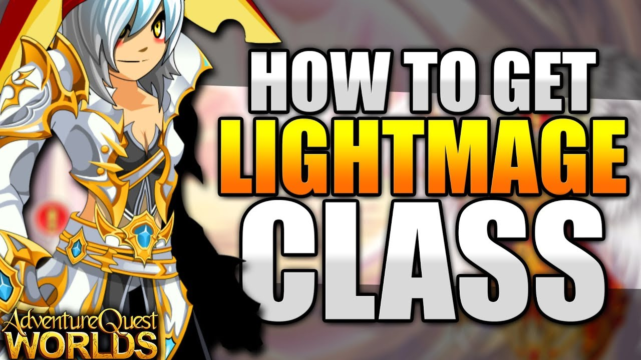 How To Get Lightmage Class And Lightcaster Class Aqw Adventurequest