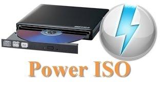 comment monter une image ISO et créer un lecteur virtuel avec POWER ISO