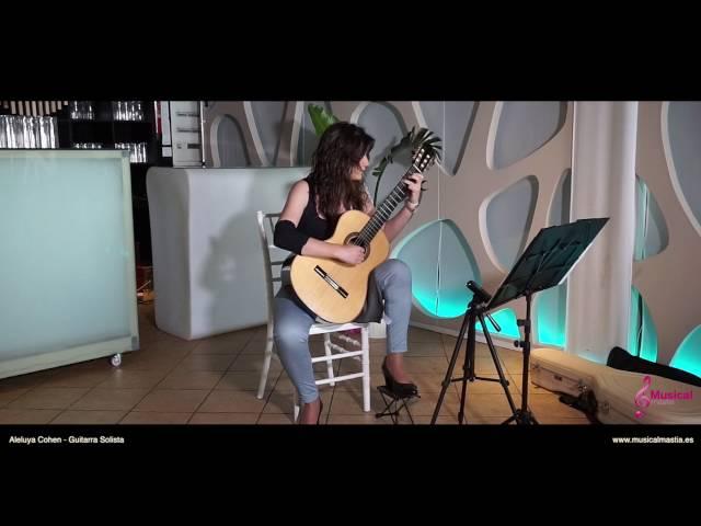 Aleluya Leonard Cohen - Guitarra Solista Restaurante Area Sunset Bodas Cartagena Bodas Murcia