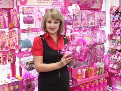 Набор детской косметики Барби дримхаус - YouTube