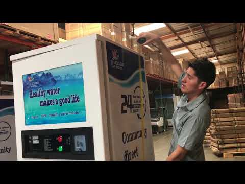 Water Vending Machine Commercial water purifier store shop