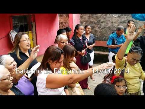 Batismo de Fernando Sales - 14/09/2014