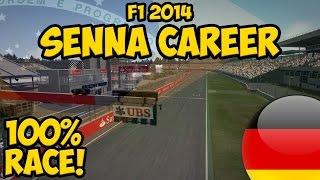 F1 2014: Senna Career Part 6 - 100% German GP