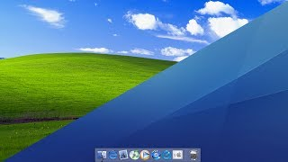 Make Windows XP Look Like Mac OS X - (FlyAKiteOSX)