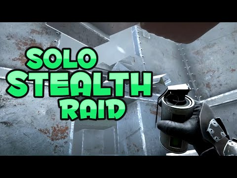 Solo Stealth Raiding In And Out Unseen! | VsPVP Sub Server | ARK: Survival Evolved | S1:EP34
