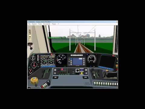 Simulatore Treno 5 01 Paolo Sbaccheri E464 Parte 1