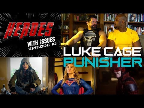 PUNISHER LUKE CAGE in Therapy for Netflix Defenders? SPIDER-MAN drops in (Heroes With Issues Ep 10)