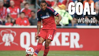 GOAL: Matt Watson rockets one in from outside the box | Chicago Fire vs. D.C. United