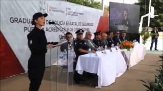 Discurso de Cadete de la Policía Estatal de Seguridad Pública