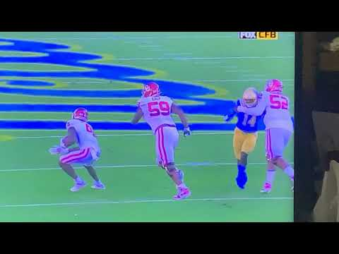 Refs Allowing Oklahoma To Hold UCLA Damages Game Integrity