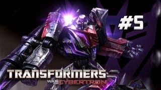 Transformers War for Cybertron Walkthrough - Part 5 [Chapter 1] Dark Energon Power Let