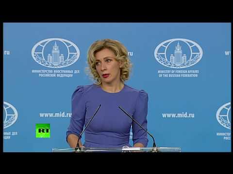 Захарова посоветовала главе МИД Великобритании надеть шапку-невидимку, чтобы не попасть в кадр RT