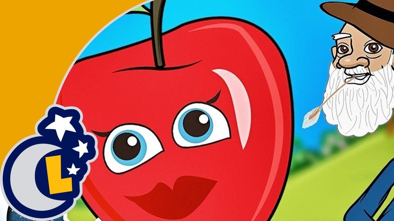 La Manzana se Pasea de la Mesa al Comedor . Canciones de la Granja del Abuelo. Rondas Infantiles