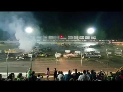 Lake County Speedway Crashopolis  6-18-16