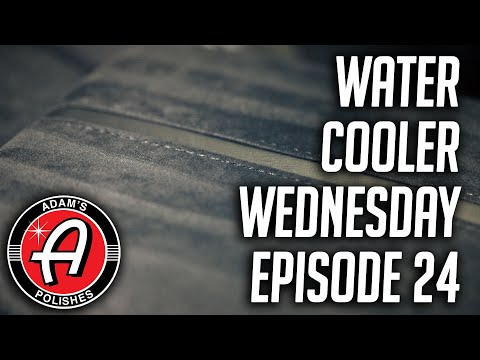 Cleaning Alcantara and Suede Interiors | Adam's Polishes Water Cooler Wednesday Episode 24