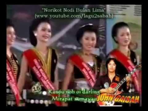 John Gaisah - Norikot Nodi Bulan Lima (HQ Audio With Lirik)