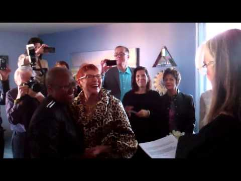 Windy City Times: First Illinois Same-Sex Marriage: Vernita Gray and Pat Ewert 11-27-2013