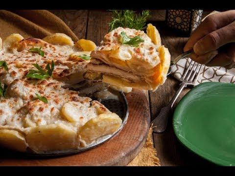 طريقة جديدة لعمل تارت بطاطس بحشو الدجاج البانية على طريقة مروة فاروق