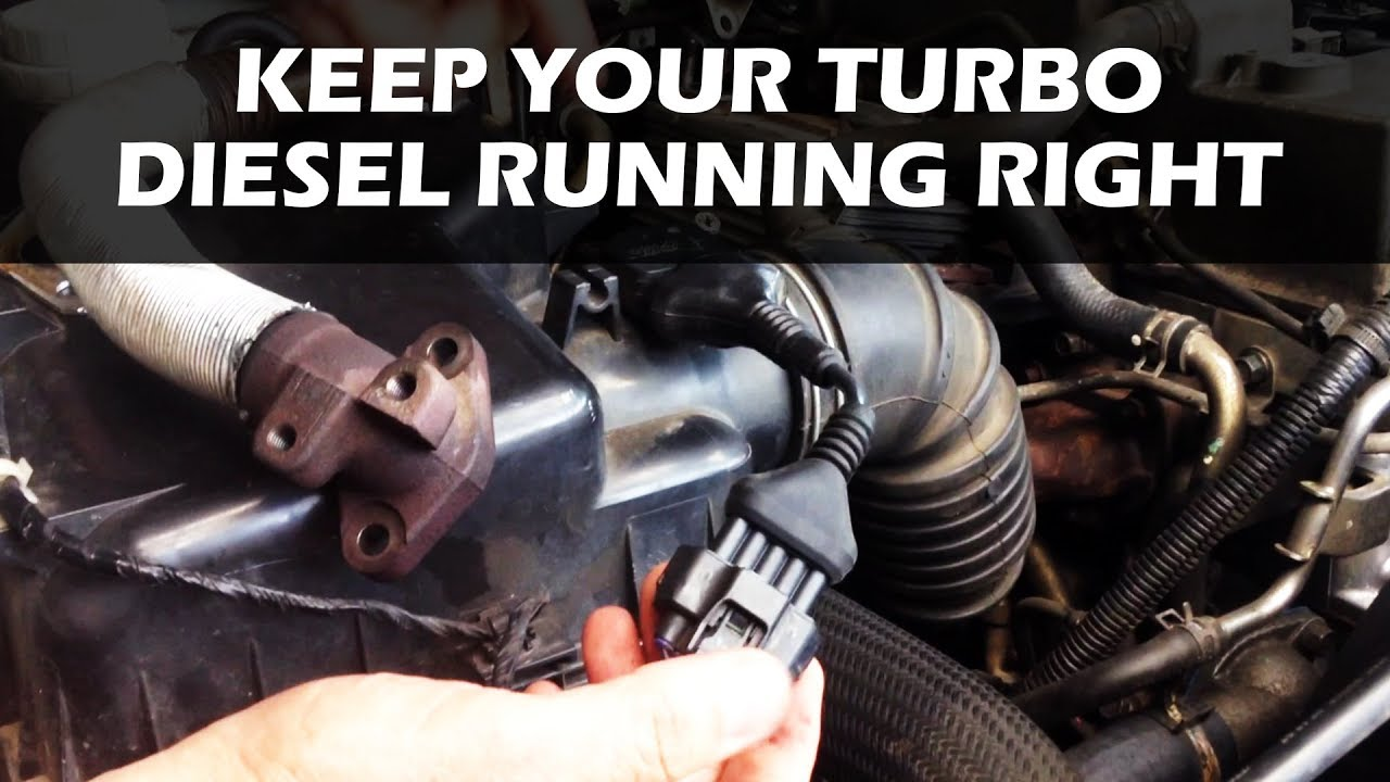 hight resolution of how to fix egr soot buildup in a turbo diesel