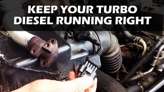 How to fix EGR Soot Buildup in a Turbo Diesel