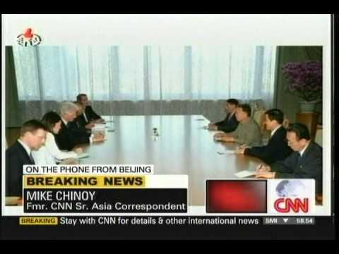 Bill Clinton Meets Kim Jong Il in Pyongyang