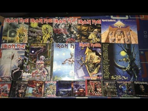 Mi Coleccion de Discos de  Iron Maiden