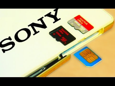 how to change sd card xperia