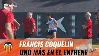 VALENCIA CF   FRANCIS COQUELIN YA ES UNO MÁS