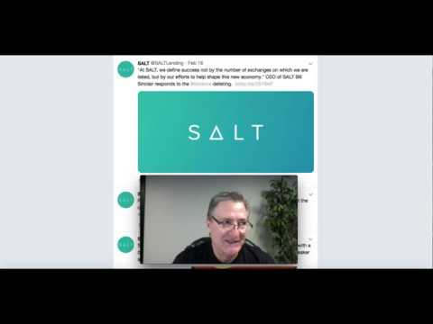 Salt Lending: Update and Comments