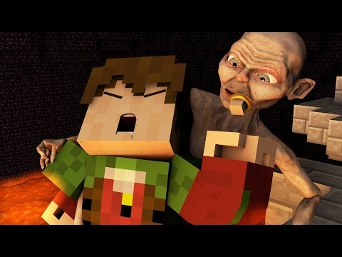 Minecraft Parody - LORD OF THE RINGS: RETURN OF THE KING! - (Minecraft Animation)