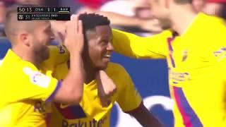 16-jähriges Supertalent, Ansu Fati, trifft für den FC Barcelona bei seinem zweiten Einsatz | DAZN