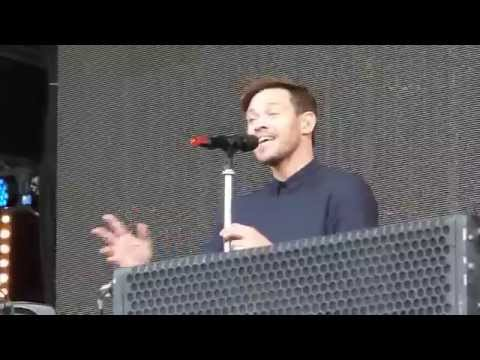 Will Young 'Joy' live  Hyde Park London 13.09.15 HD