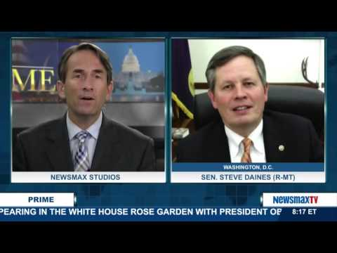 Newsmax Prime | Sen. Steve Daines on Joe Biden's call for Democrats to run on Pres. Obama