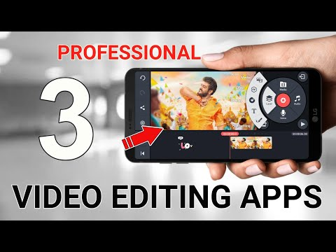 Top 3 Professinol Video Editing Apps For Android Tamil || Mobile Video Editing Tamil