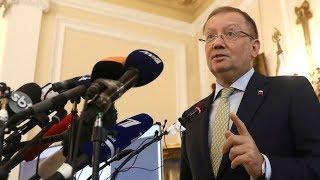 Russian Ambassador to the UK Alexander Yakovenko holds news conference