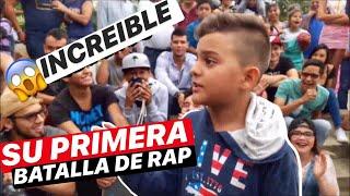 INCREIBLE NIÑO DE 11 AÑOS EN SU PRIMERA BATALLA DE RAP || SKILLS MIC™ thumbnail