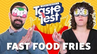 Fast Food Chain French Fries 🍟TASTE TEST
