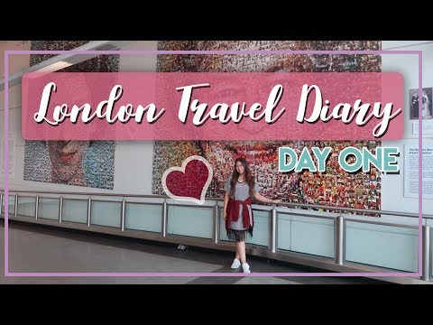 London Travel Diary - Day 1 (Arrival at Gatwick Airport!)