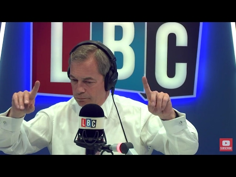 The Nigel Farage Show: General Election. Live LBC - 3rd May 2017
