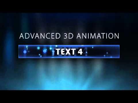 3D Advanced Minecraft Server Banner Template (GIF) - \