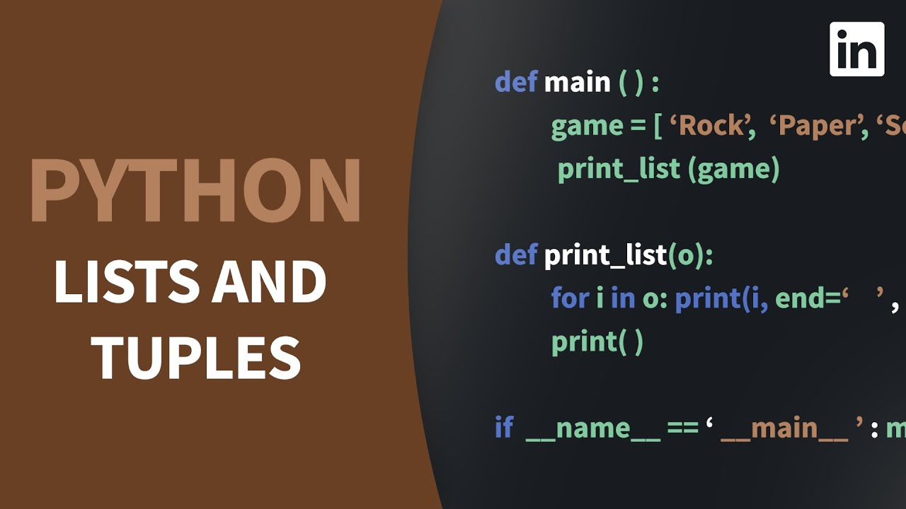 Discover Python's Sequential Data Types