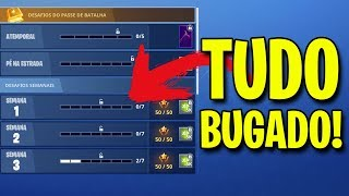 BUG OF CHALLENGES-WHAT'S GOING ON??? -Fortnite Battle Royale