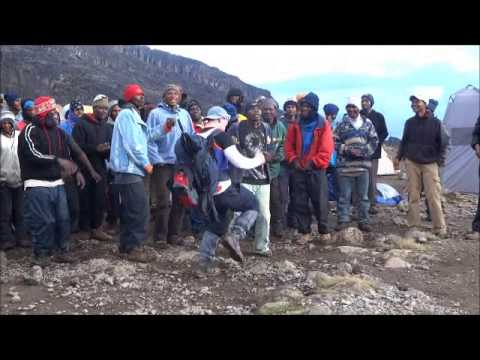 Kilimanjaro - March 2013 - Action Challenge