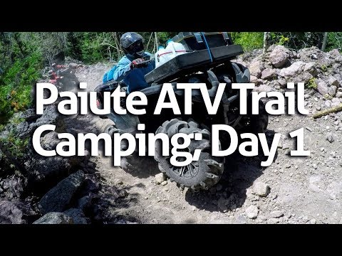 Paiute ATV Trail Camping; Day 1 of 5