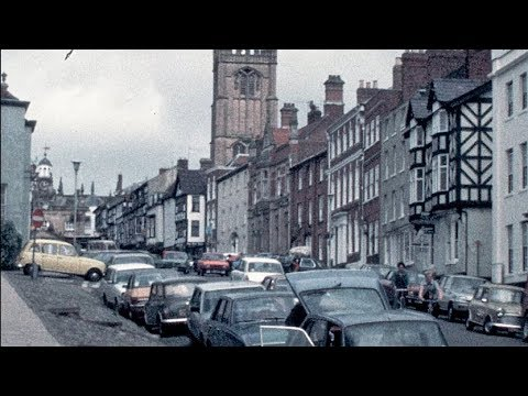 1980: Ludlow Town, Street Scenes And The Castle