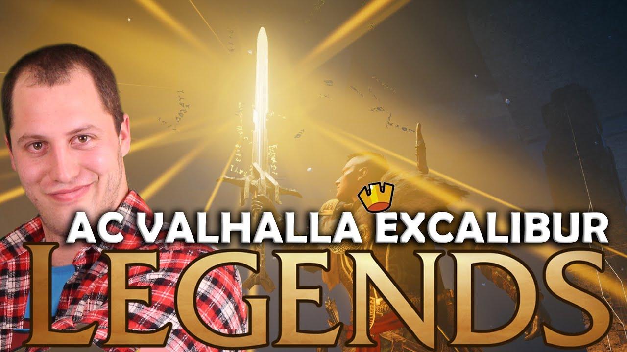 Szerezd meg a Legendás EXCALIBURT! - AC Valhalla