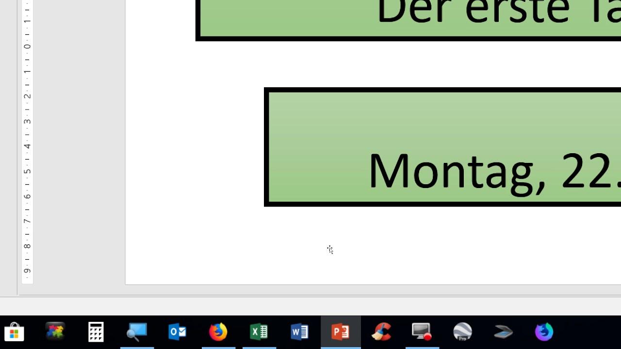22012018, PowerPoint 2016, neue Folien holen, Folien markieren ...