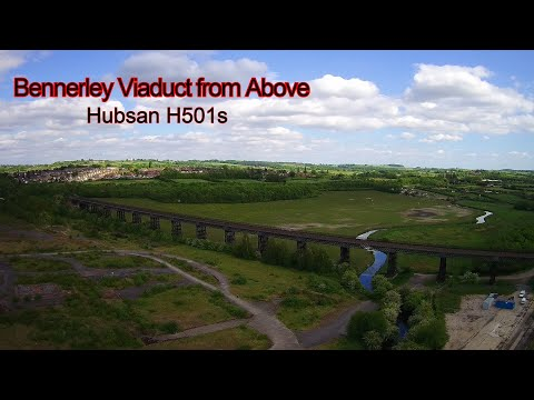 Фото Bennerley Viaduct From Above - Hubsan H501s
